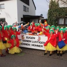 Närrischer Lindwurm versetzte Rübenach in Freudentaumel
