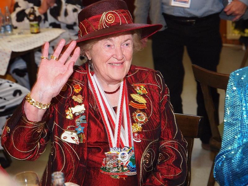 Fidele Möhnen trauern um Gerda Hergenröther